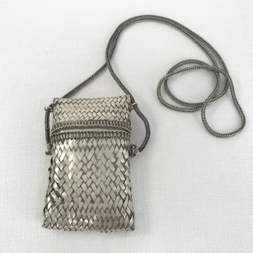 Thai Silver  Pouch Necklace (THS_027j)