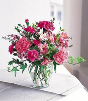 pink display arrangement