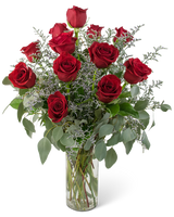 sample dozen roses