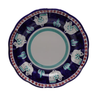 Vietri Chicks Dinner Plate
