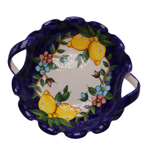 Vietri Large Bowl With Handles