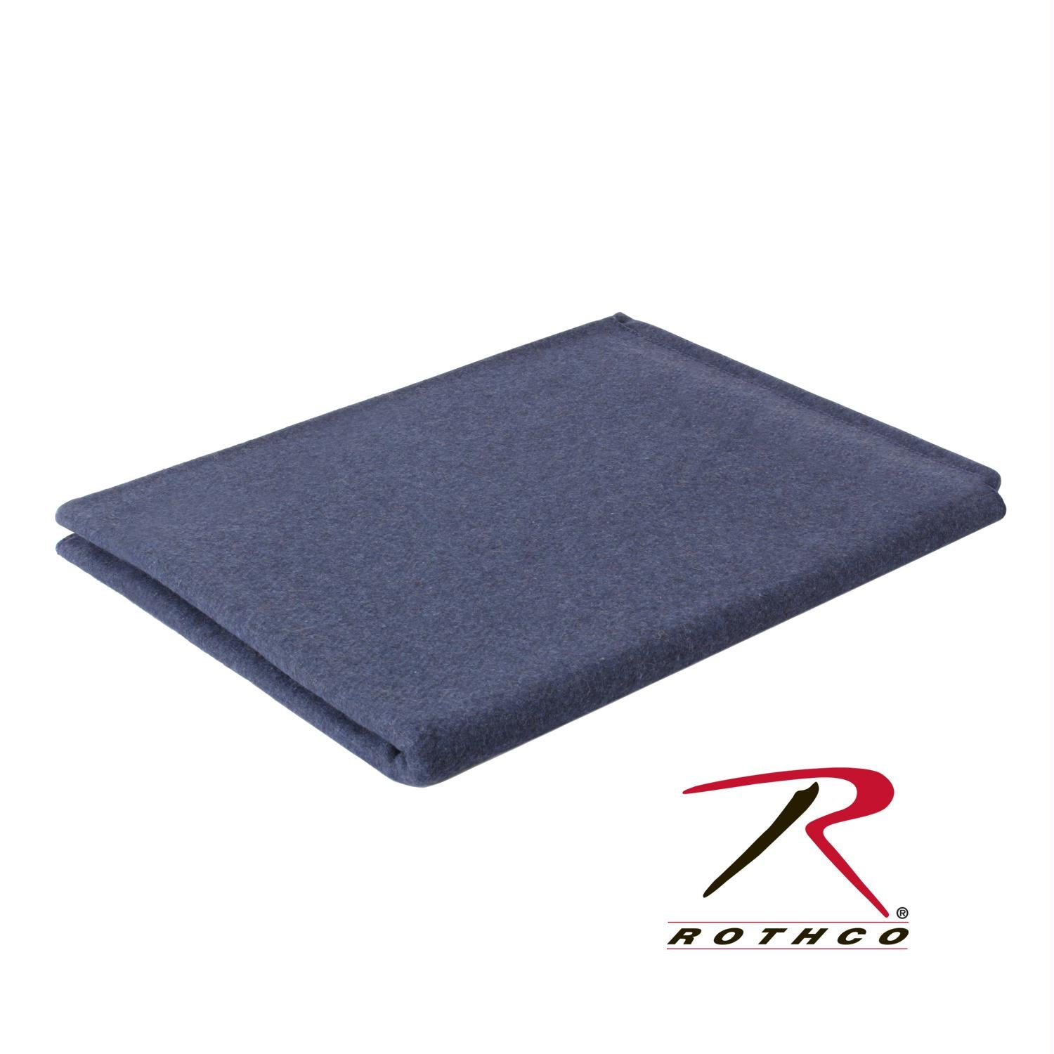 Rothco Wool Blanket - Navy Blue / 62