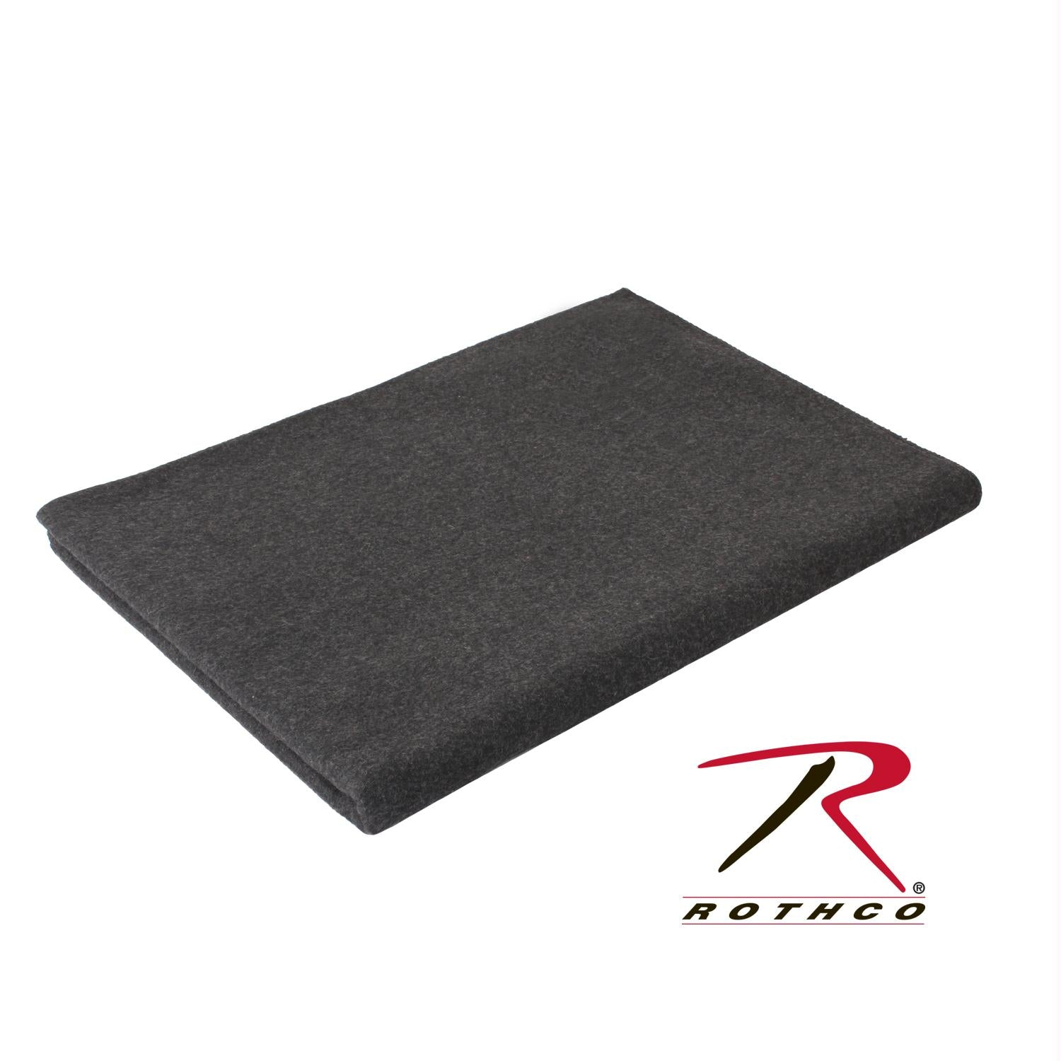 Rothco Wool Blanket - Grey / 62
