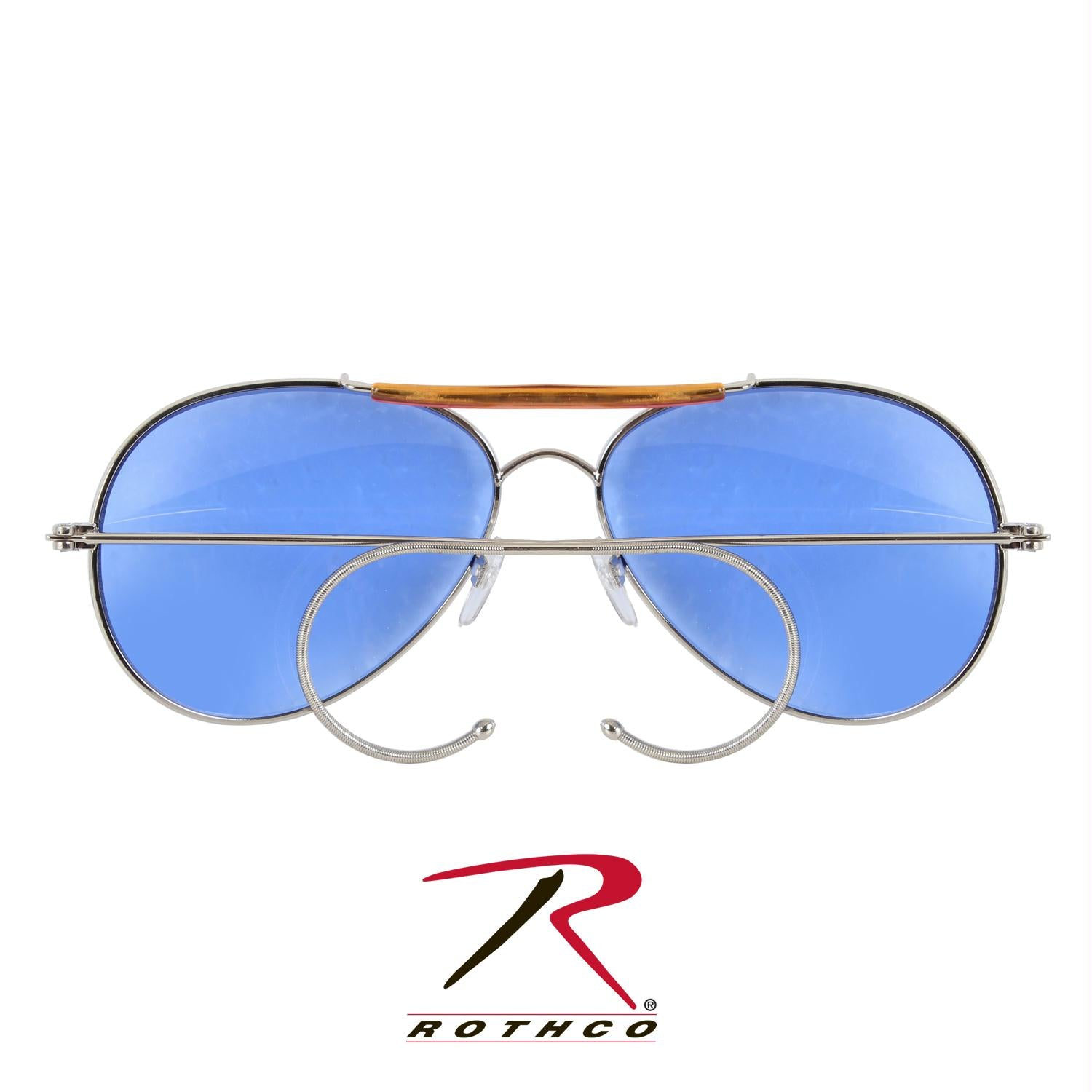 Rothco Aviator Air Force Style Sunglasses - Blue / Polybagged Only