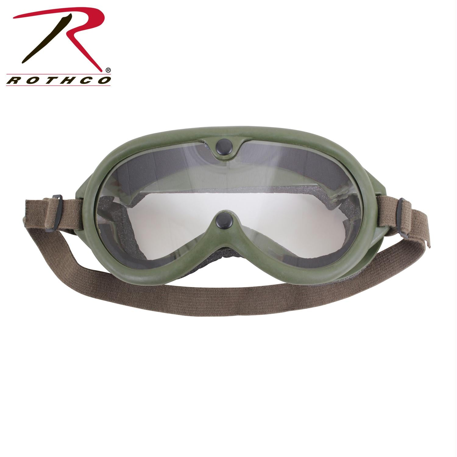 Rothco G.I. Type Sun, Wind & Dust Goggles - Olive Drab