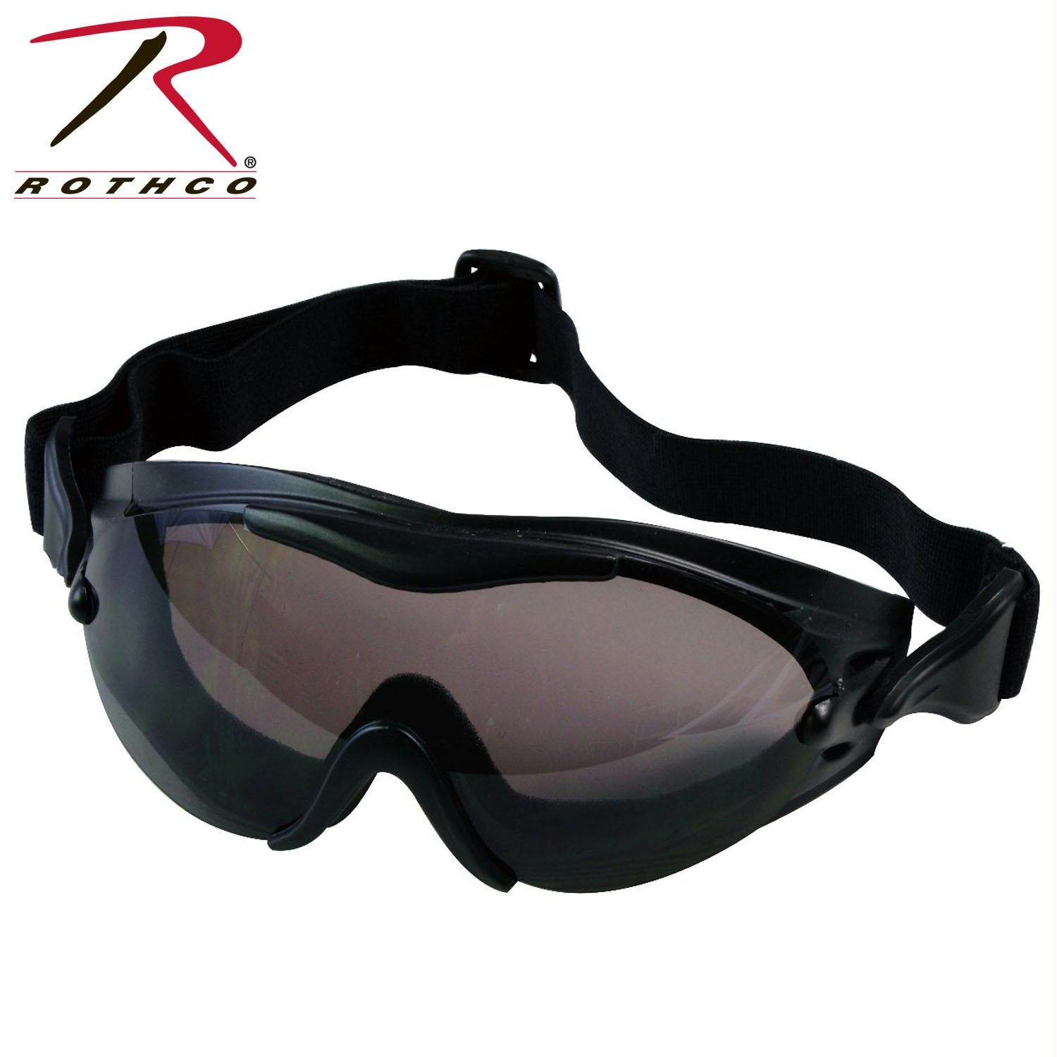Rothco SWAT Tec Single Lens Tactical Goggle - Black