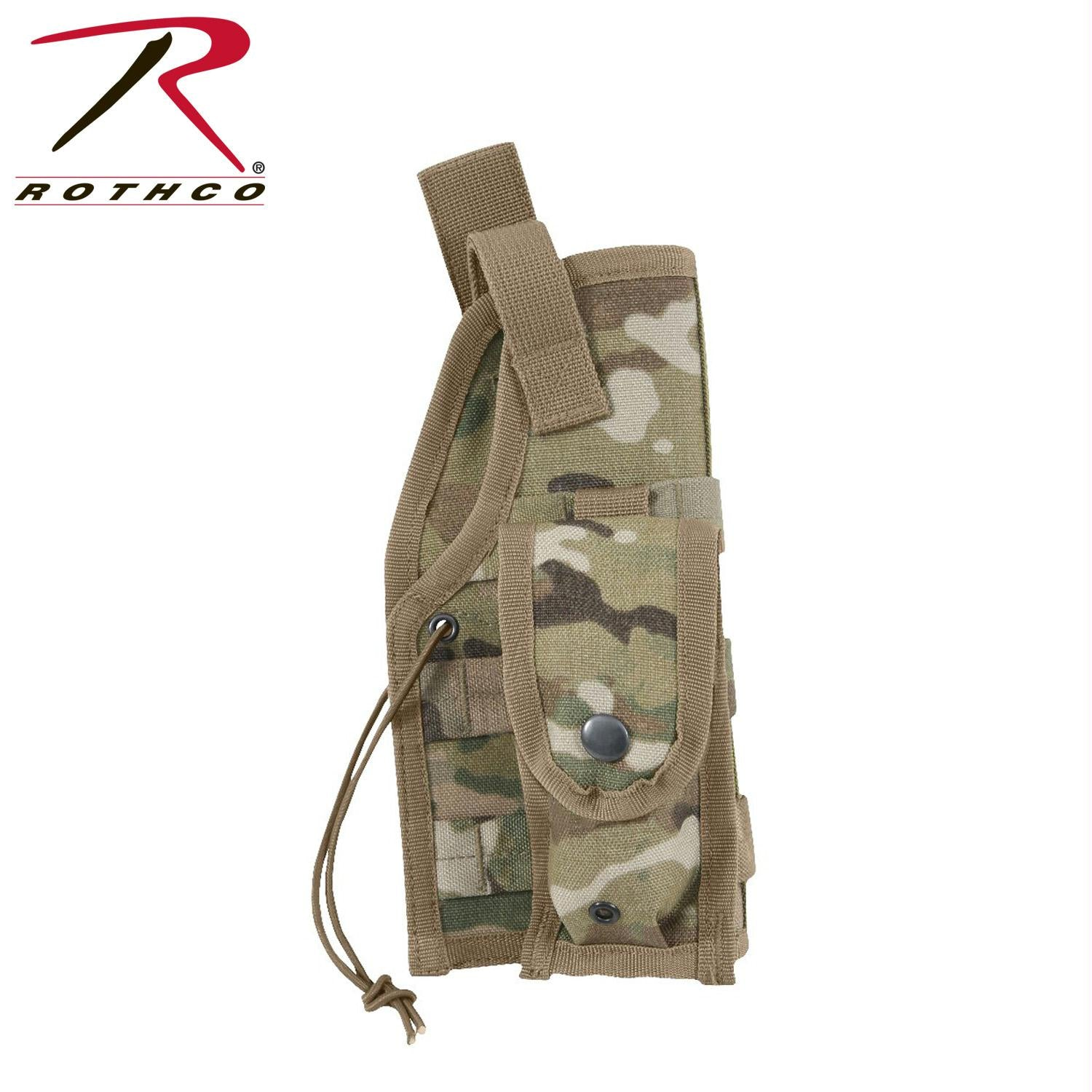 Rothco MOLLE Tactical Holster - MultiCam