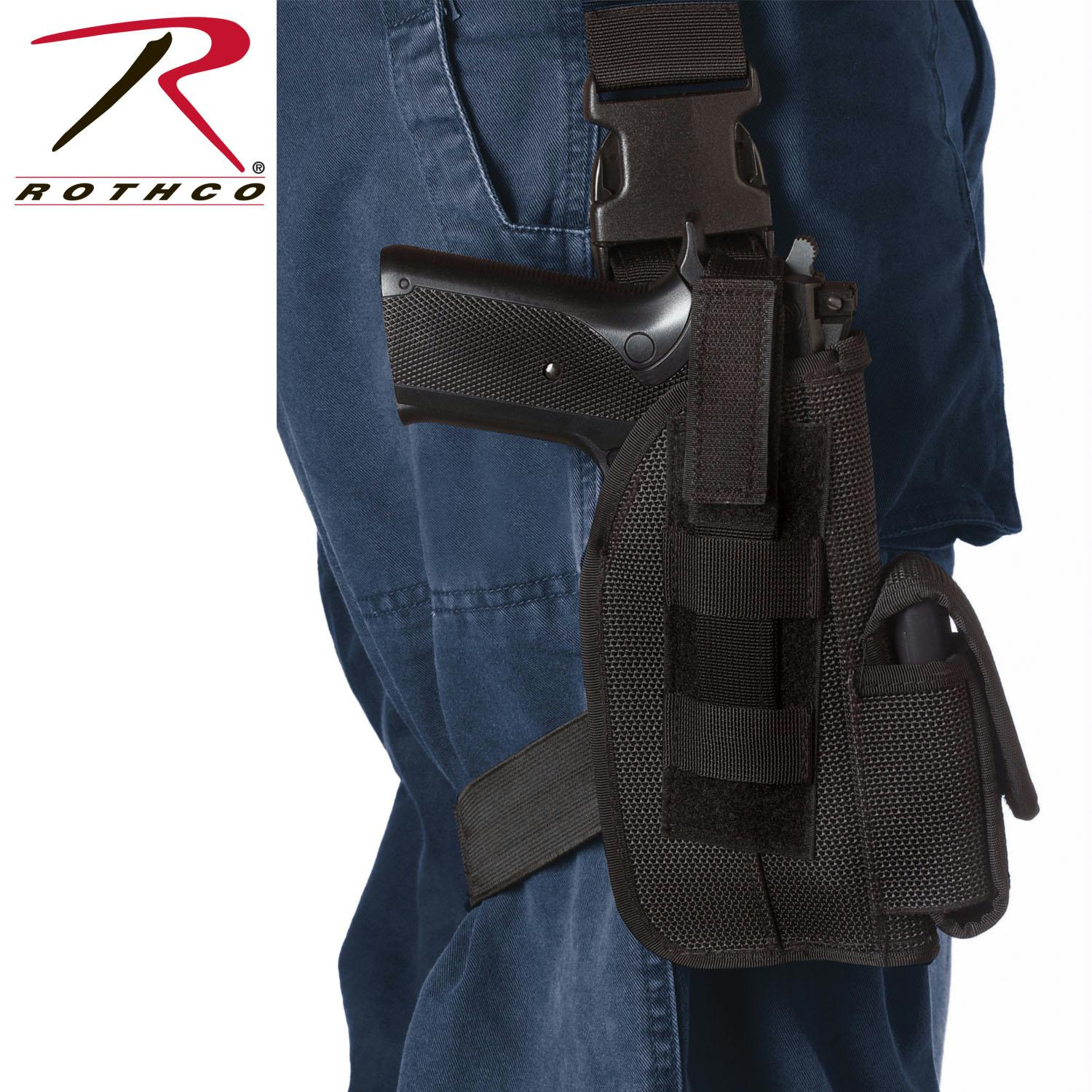 Rothco Tactical Leg Holster - Black / 5 Inches