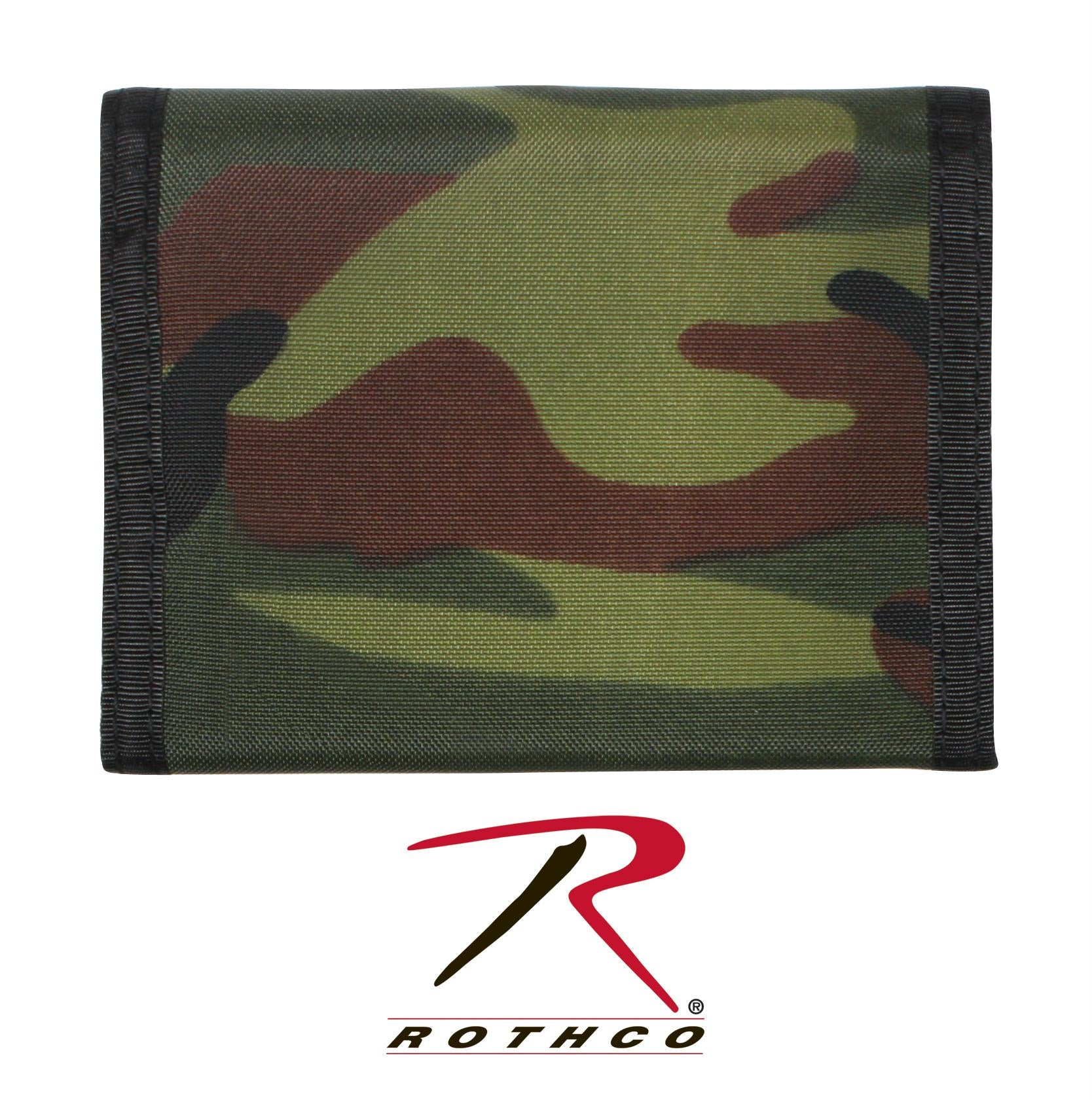 Rothco Commando Wallet - Woodland Camo