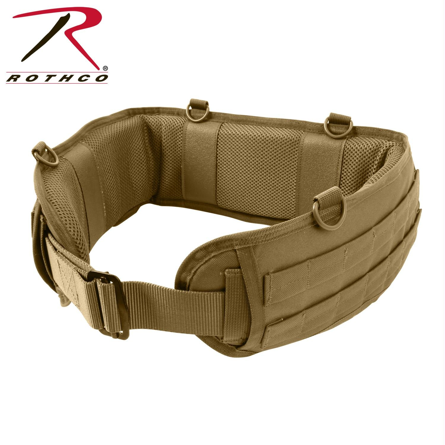 Rothco Tactical Battle Belt - Coyote Brown / M