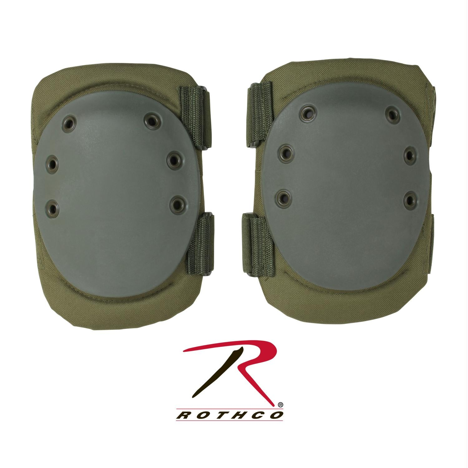 Rothco Tactical Protective Gear Knee Pads - Olive Drab