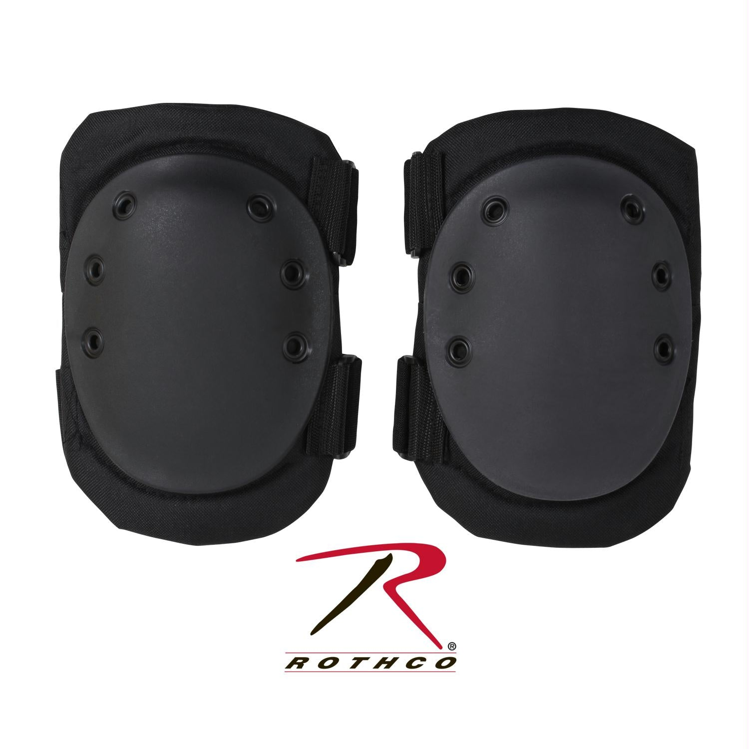 Rothco Tactical Protective Gear Knee Pads - Black