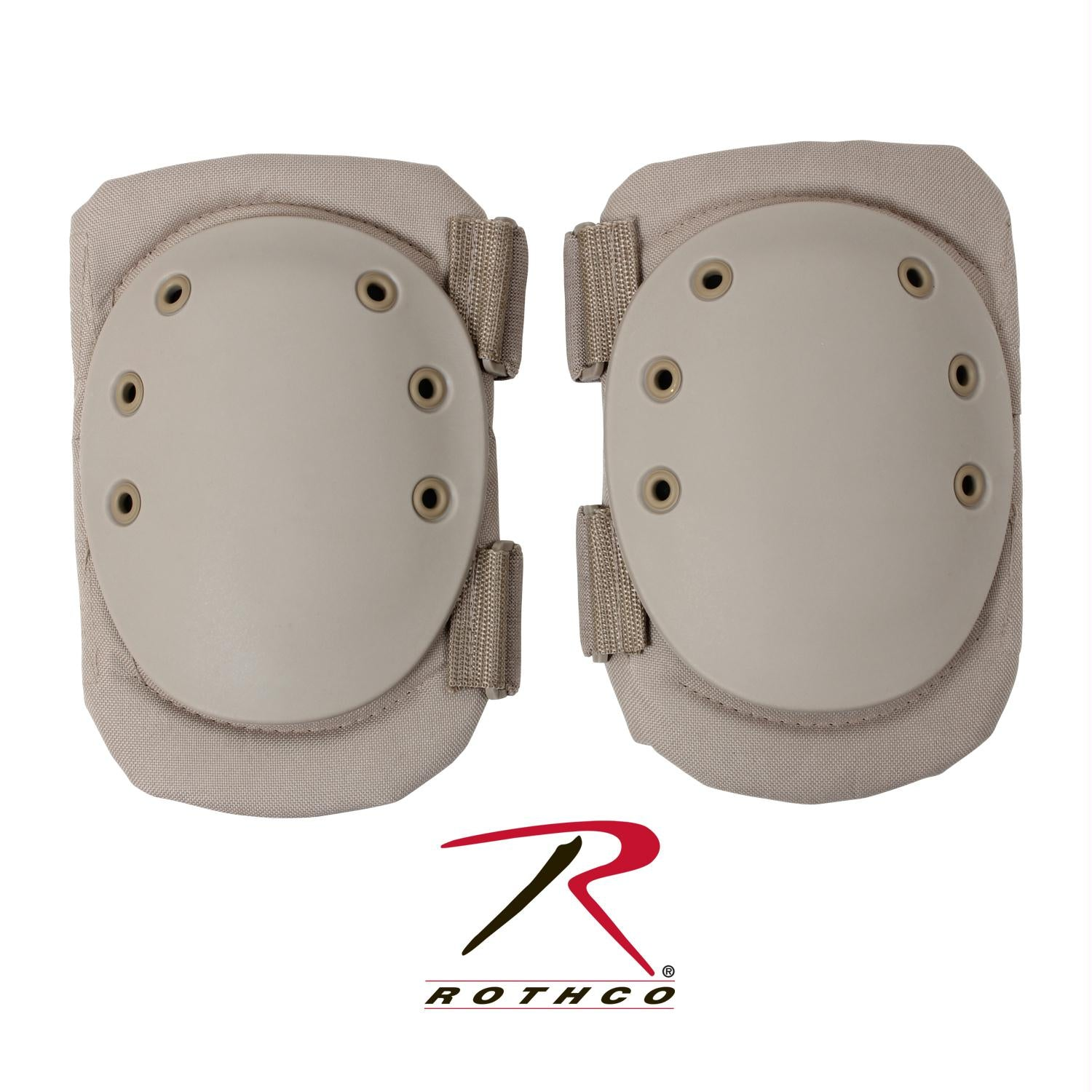Rothco Tactical Protective Gear Knee Pads - Desert Tan