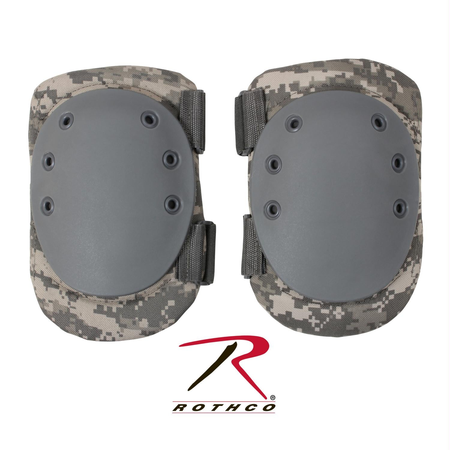 Rothco Tactical Protective Gear Knee Pads - ACU Digital Camo