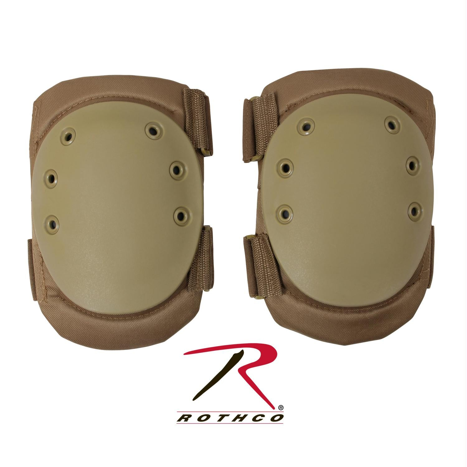 Rothco Tactical Protective Gear Knee Pads - Coyote Brown