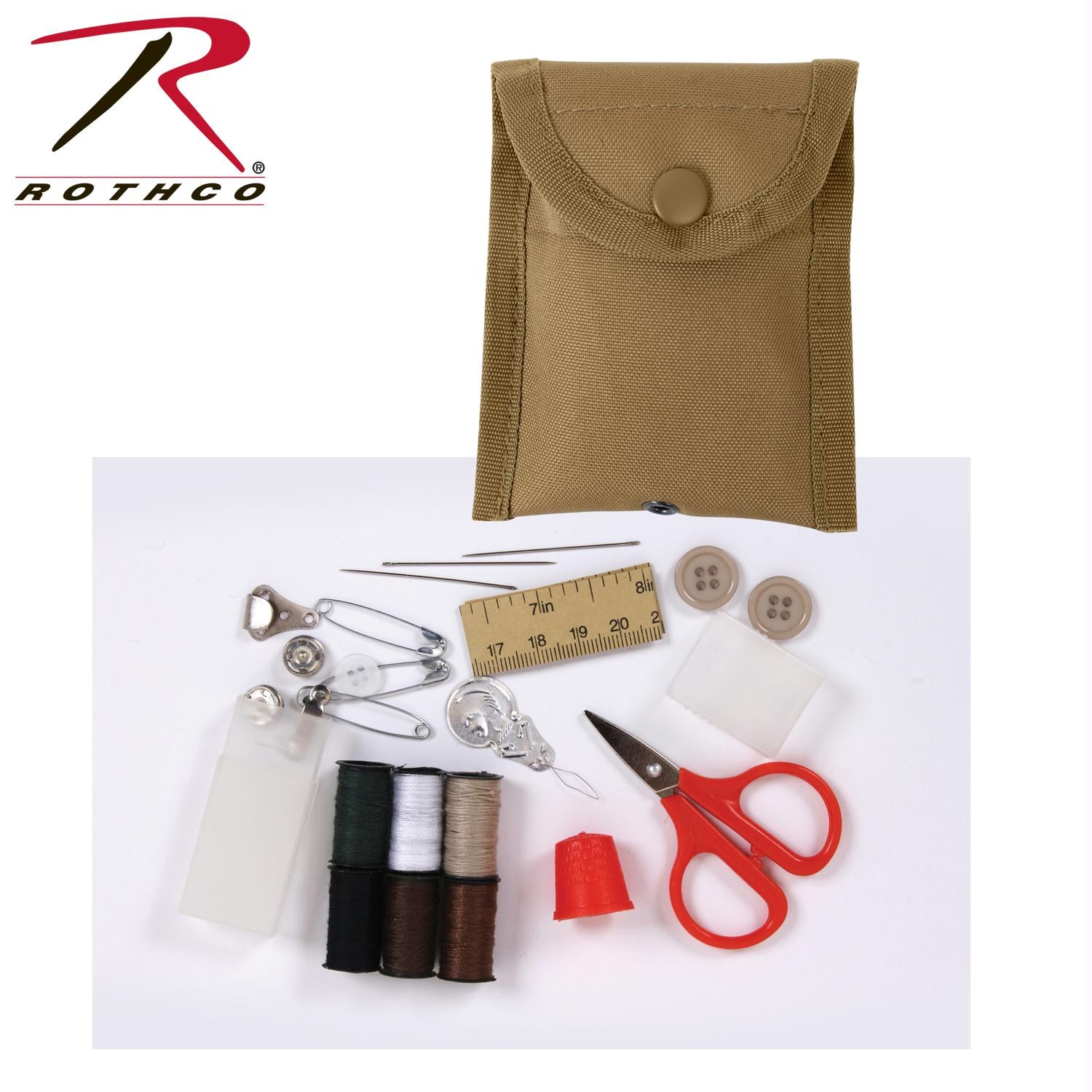Rothco G.I. Style MultiCam Sewing & Repair Kit