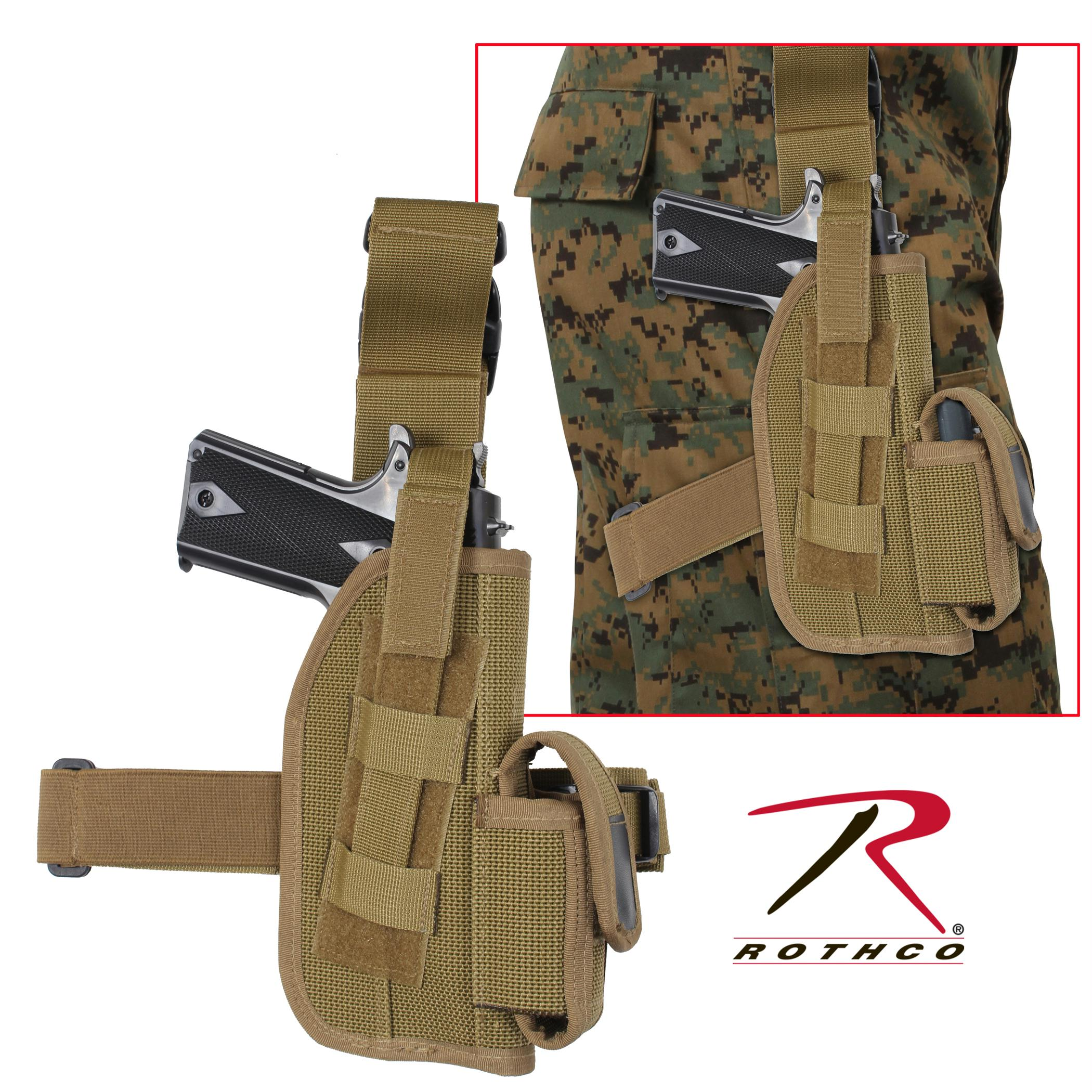 Rothco Tactical Leg Holster - Coyote Brown / 5 Inches