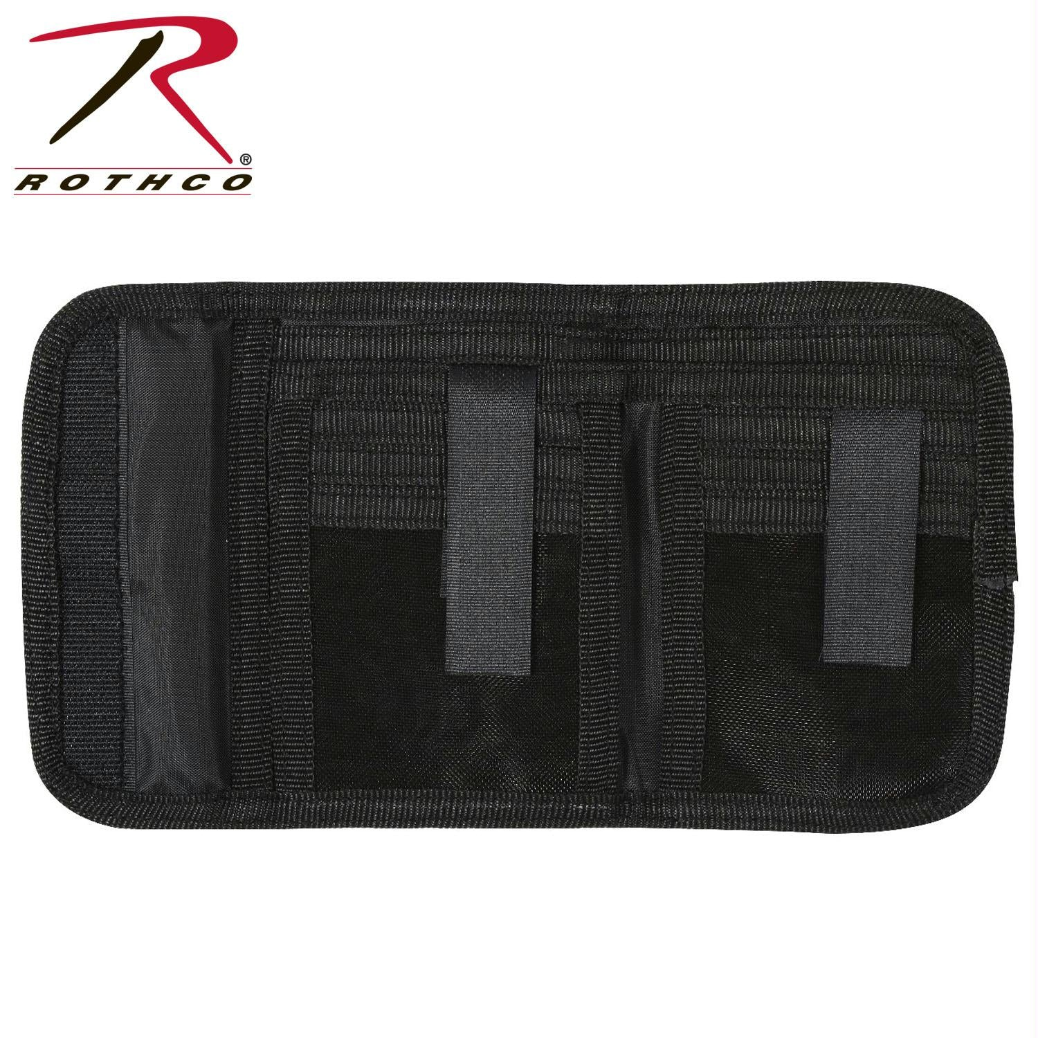 Rothco Deluxe Tri-Fold ID Wallet - Black