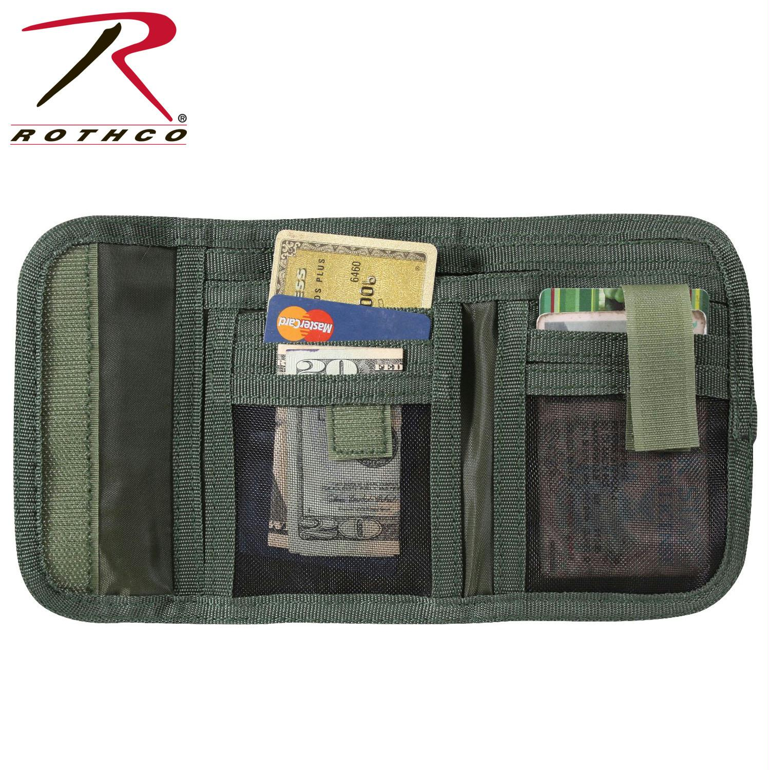 Rothco Deluxe Tri-Fold ID Wallet - Woodland Camo