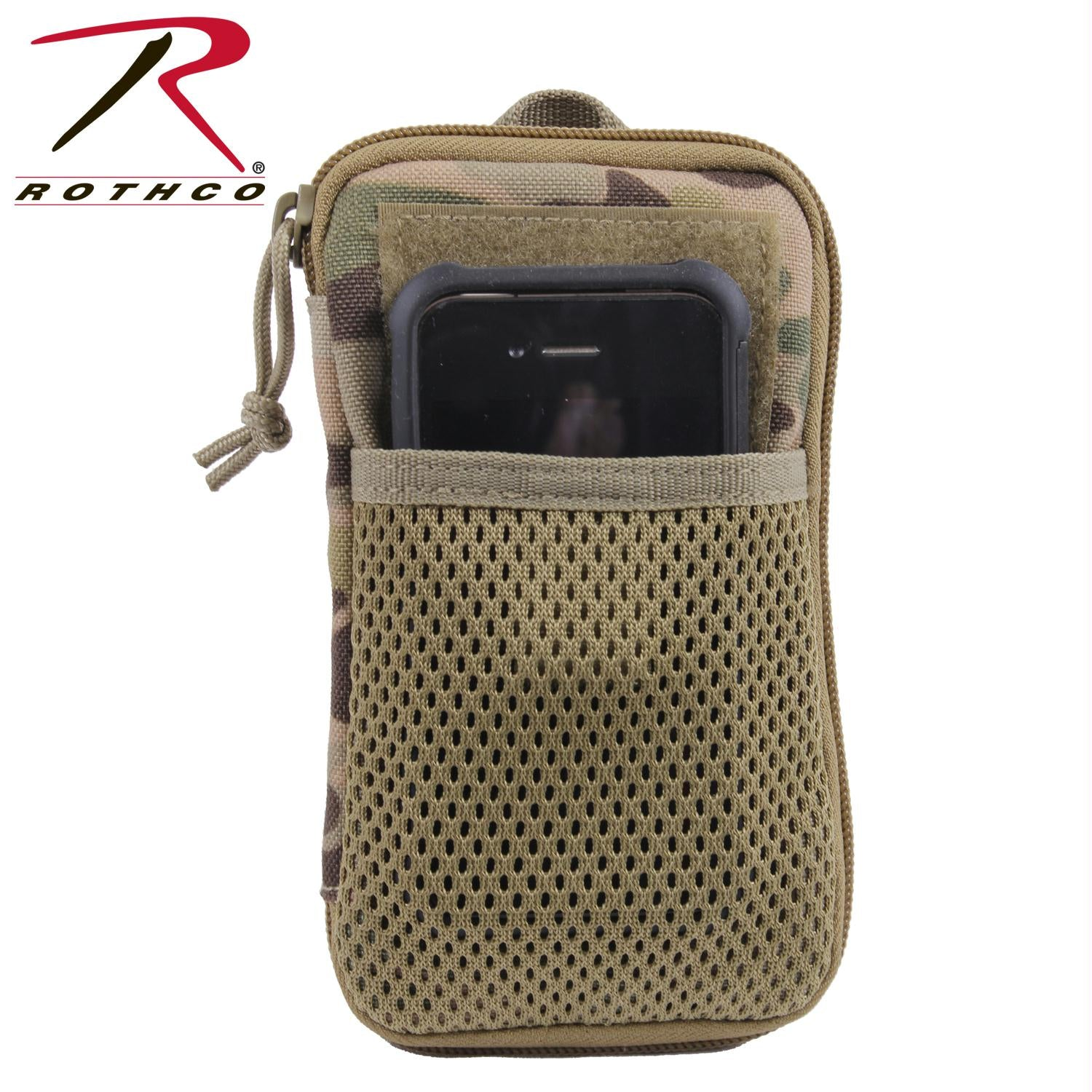 Rothco Tactical MOLLE Wallet - MultiCam