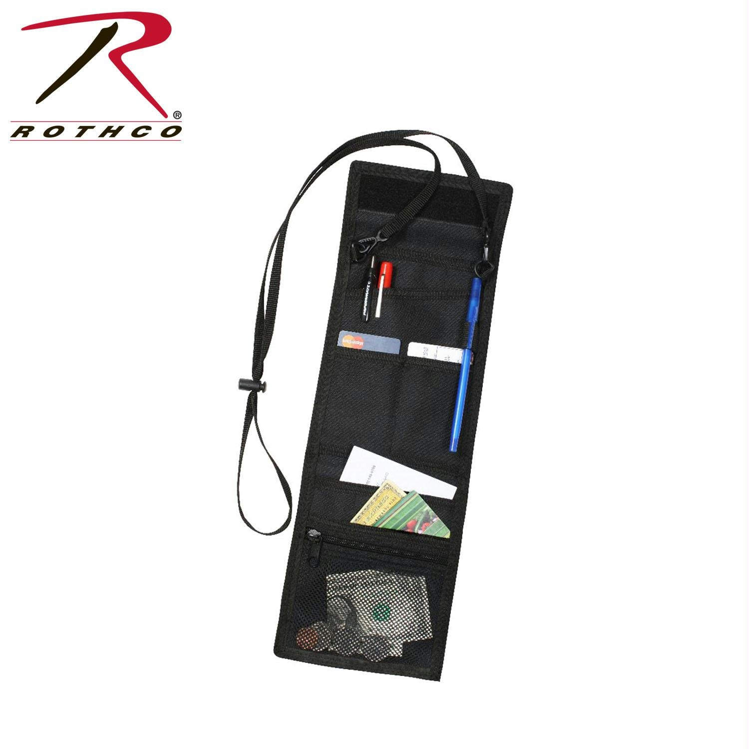 Rothco Deluxe ID Holder - Black