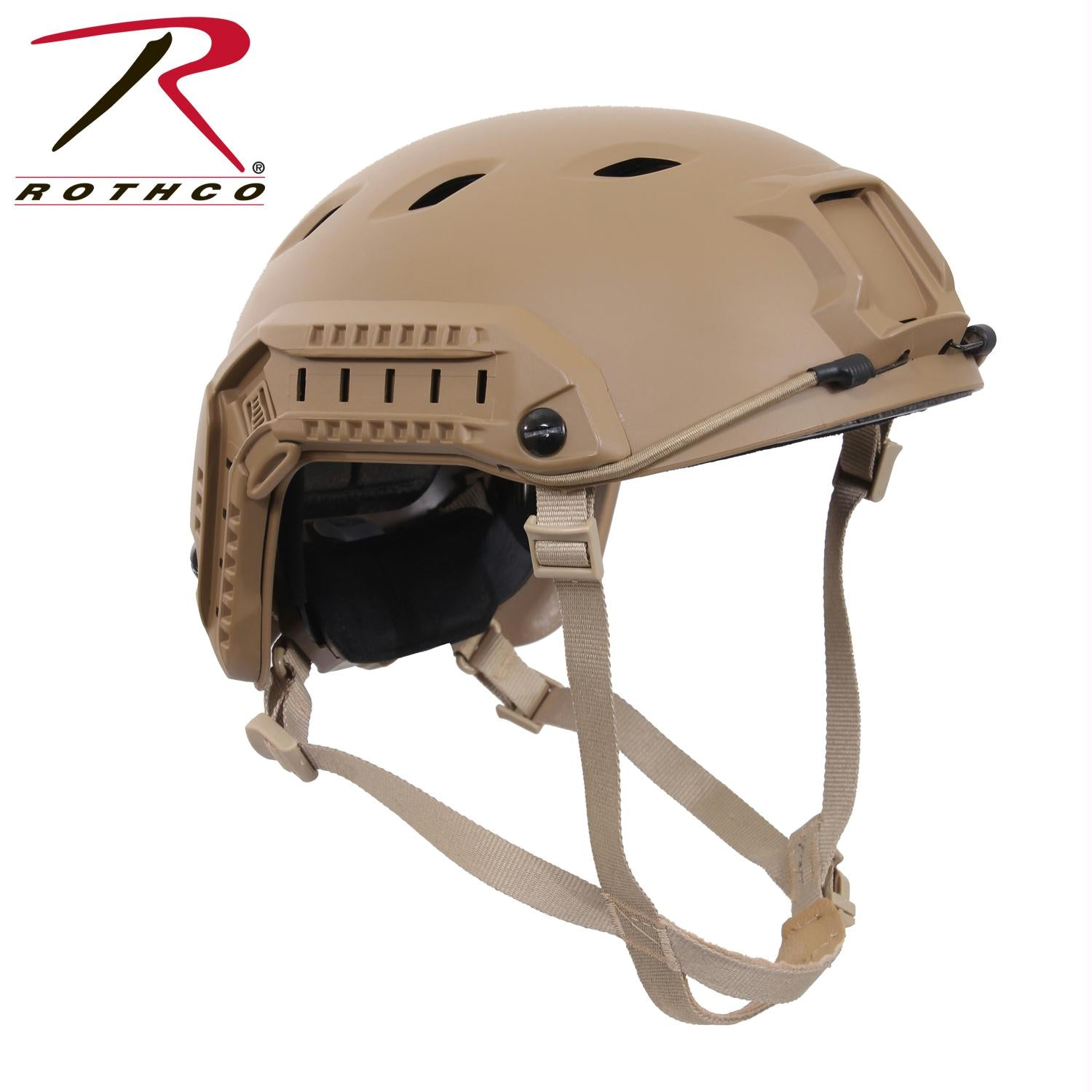 Rothco Advanced Tactical Adjustable Airsoft Helmet - Coyote Brown