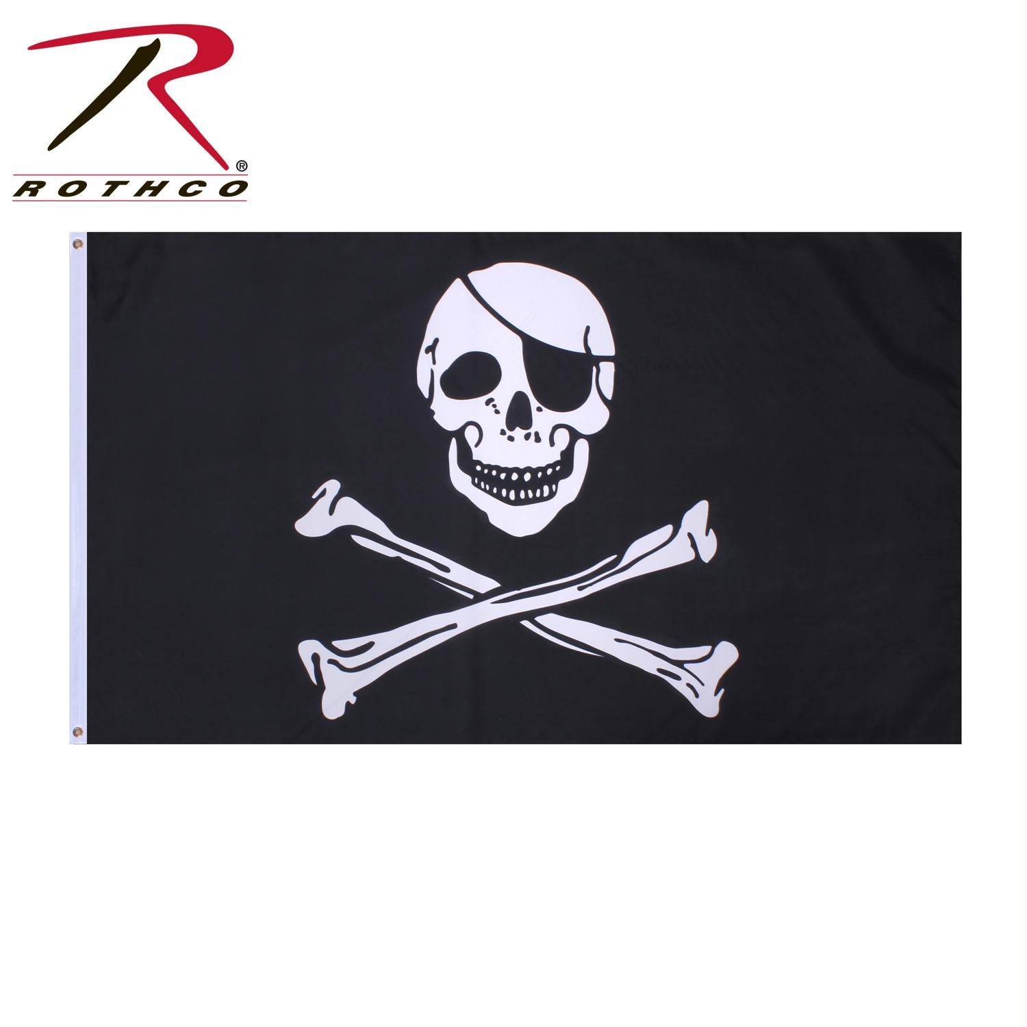 Rothco Jolly Roger Flag - 3' x 5'