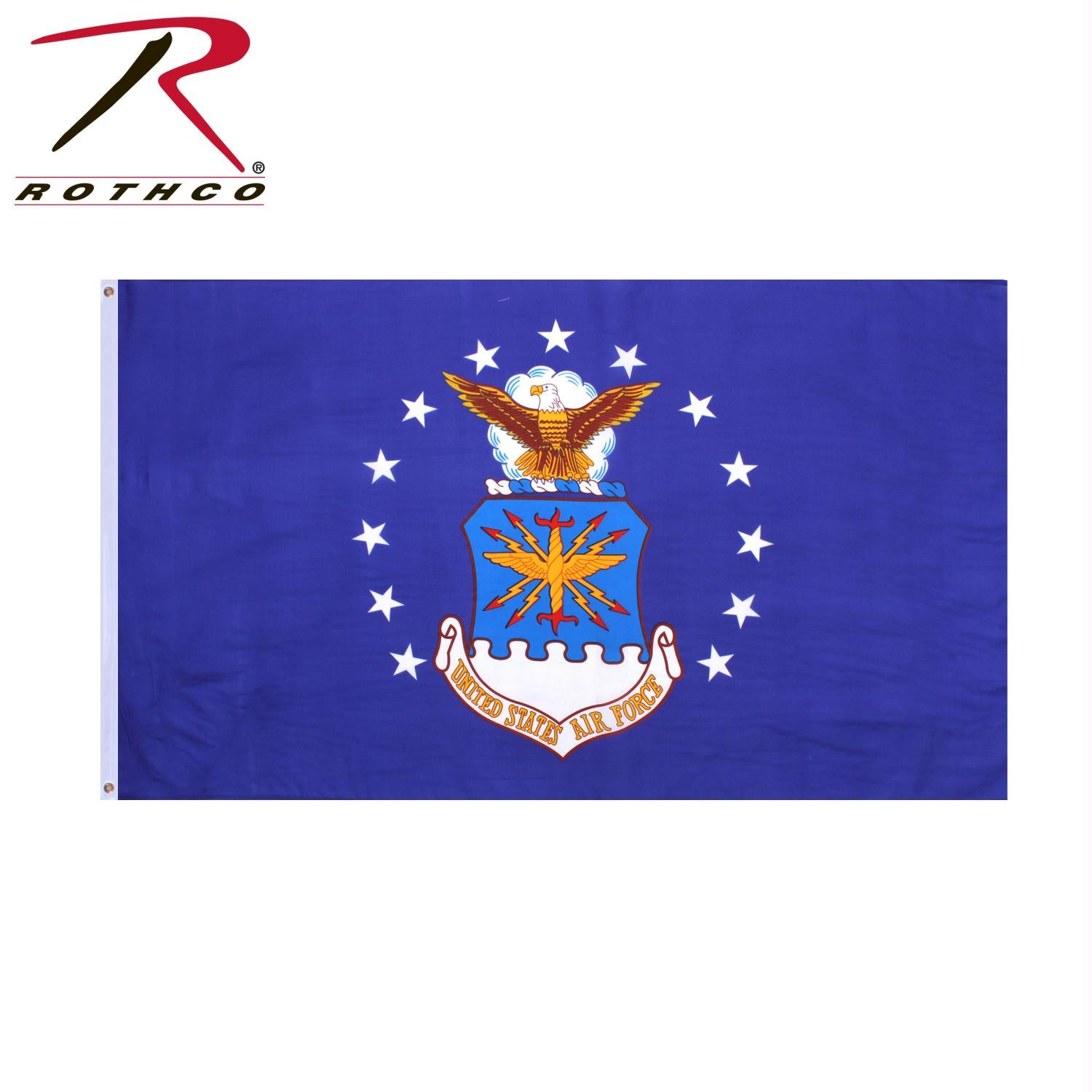 Rothco U.S. Air Force Emblem Flag - Blue / 3