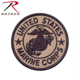 Rothco Marine Corps Patch W- Hook & Loop 3