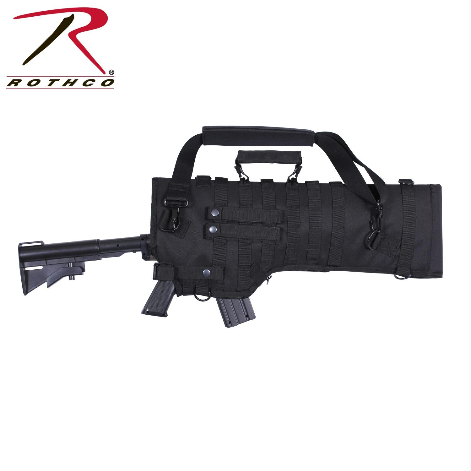 Rothco Tactical Rifle Scabbard - Black