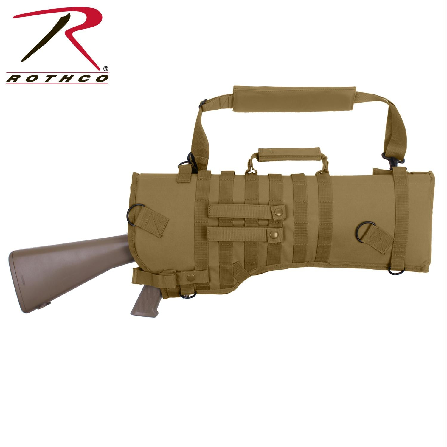 Rothco Tactical Rifle Scabbard - Coyote Brown