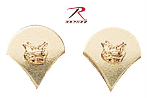 Rothco Spec-4 Polished Insignia - Gold