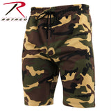 Rothco Camo Sweat Shorts