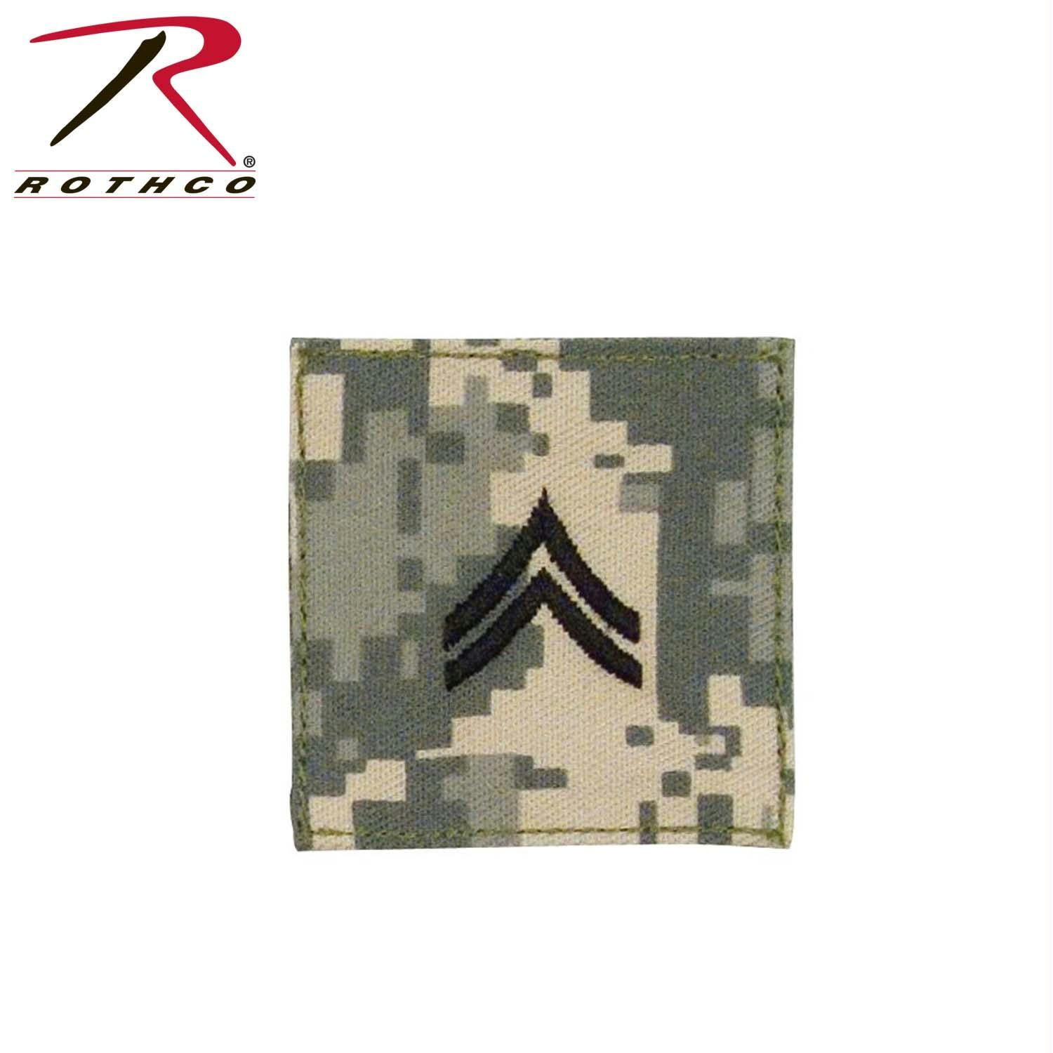 Official U.S. Made Embroidered Rank Insignia - Corporal