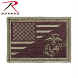 Rothco US Flag - USMC Globe and Anchor Morale Patch