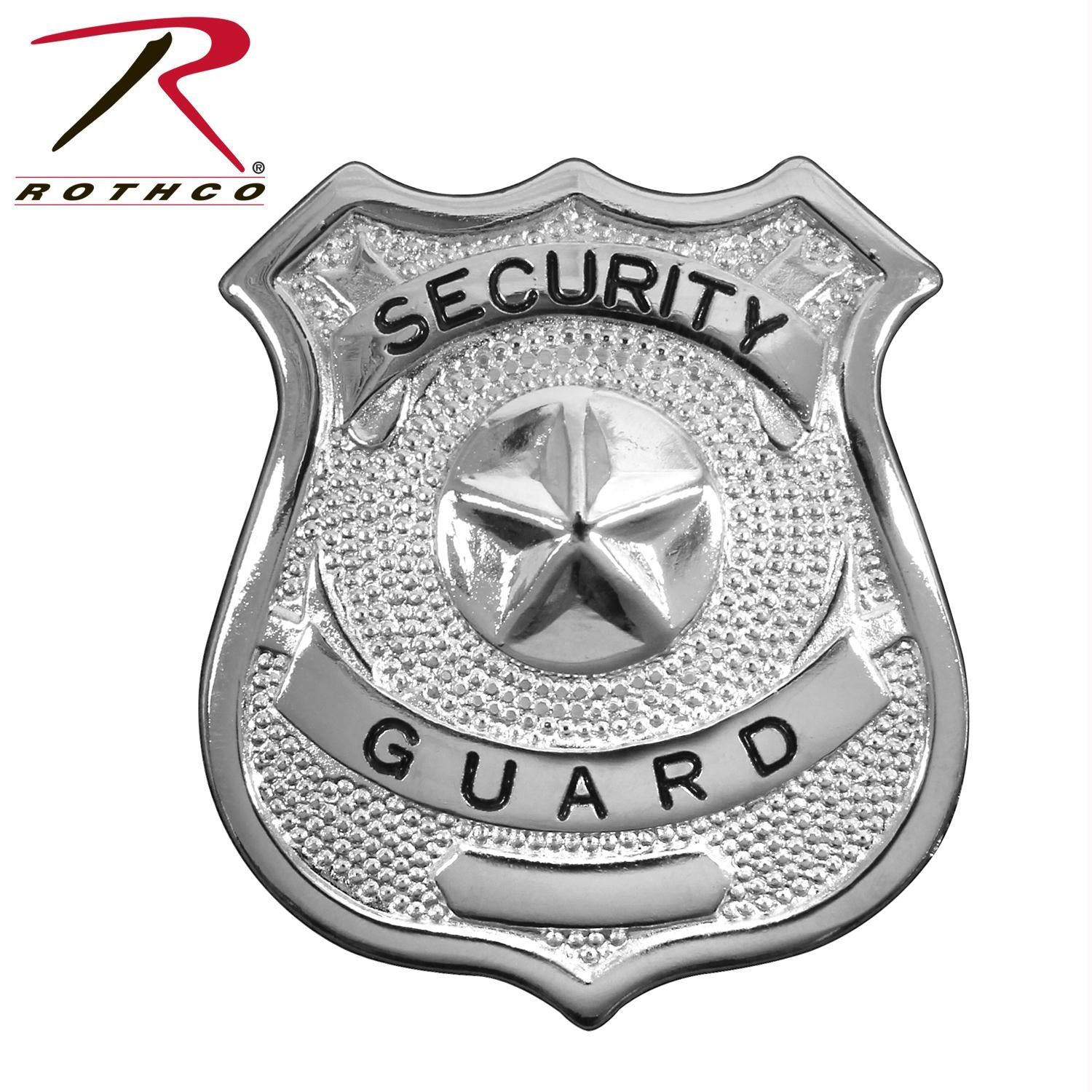 Rothco Security Guard Badge - Silver