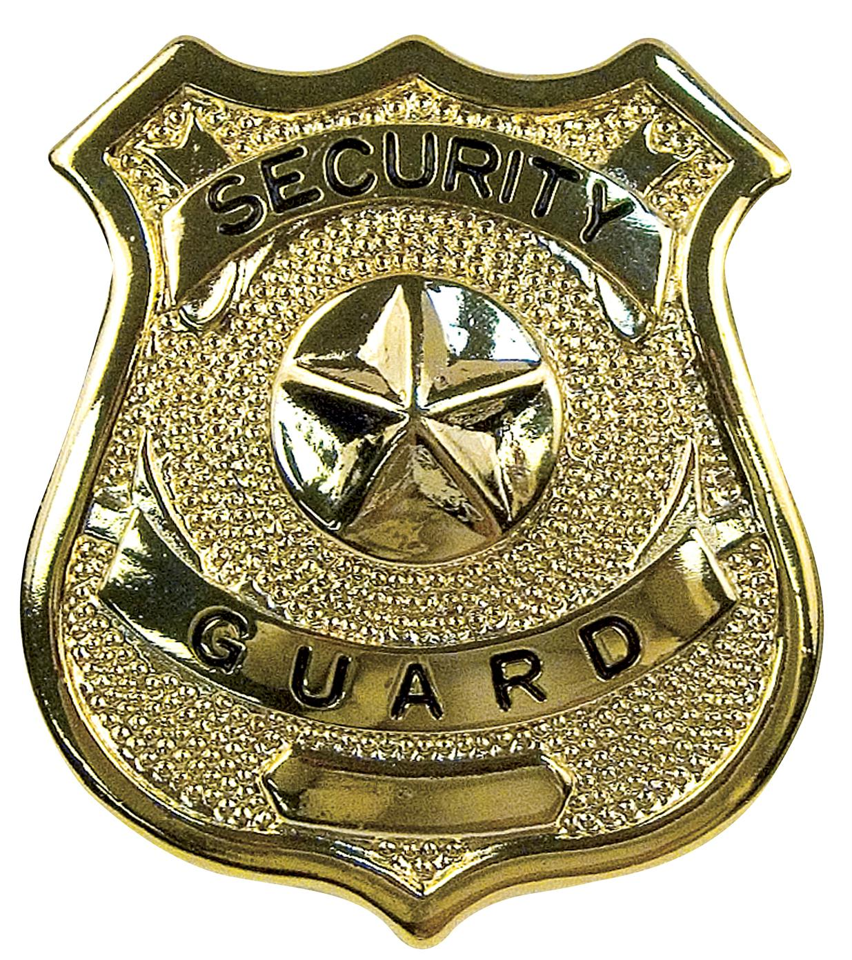 Rothco Security Guard Badge