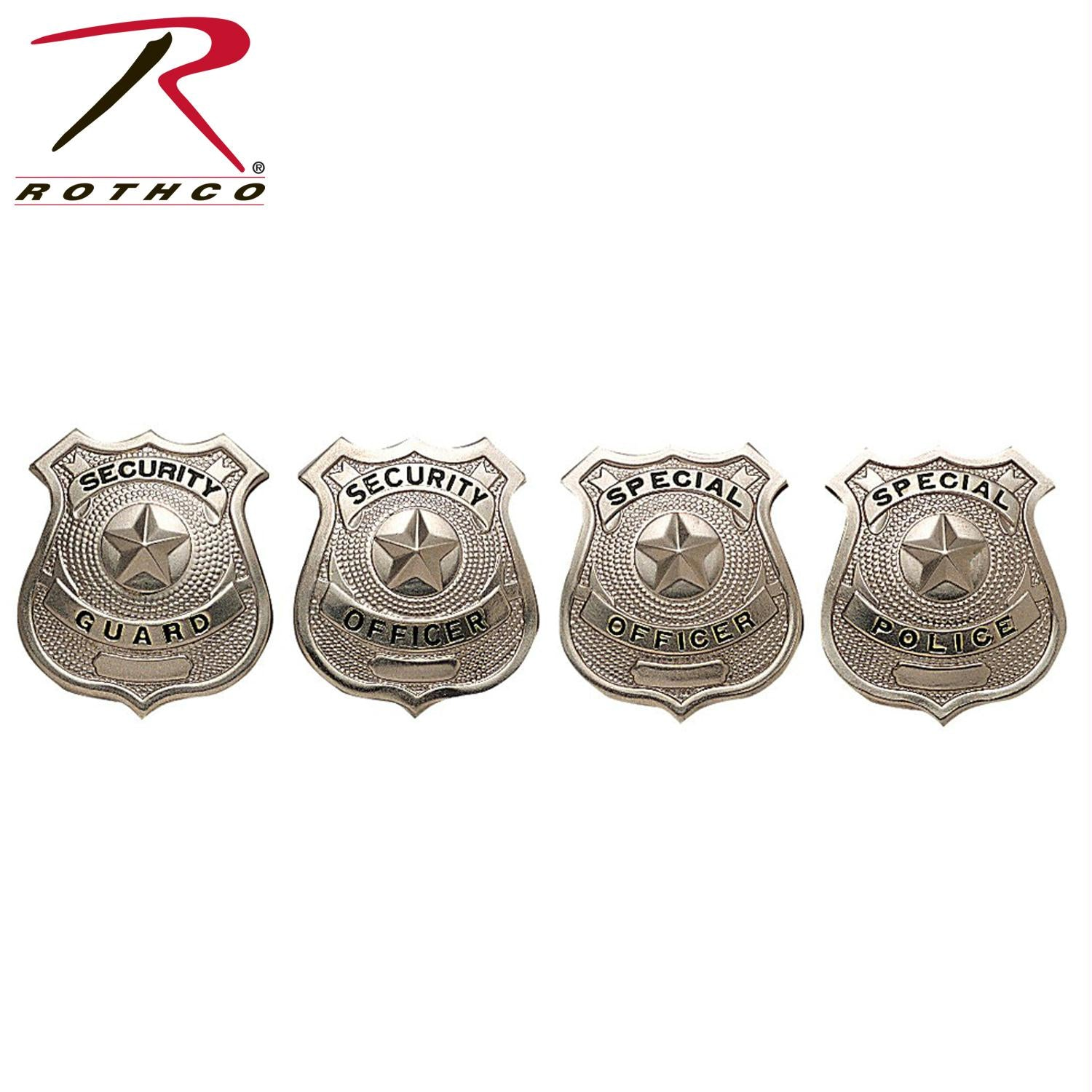 Rothco Special Officer Badge - Silver