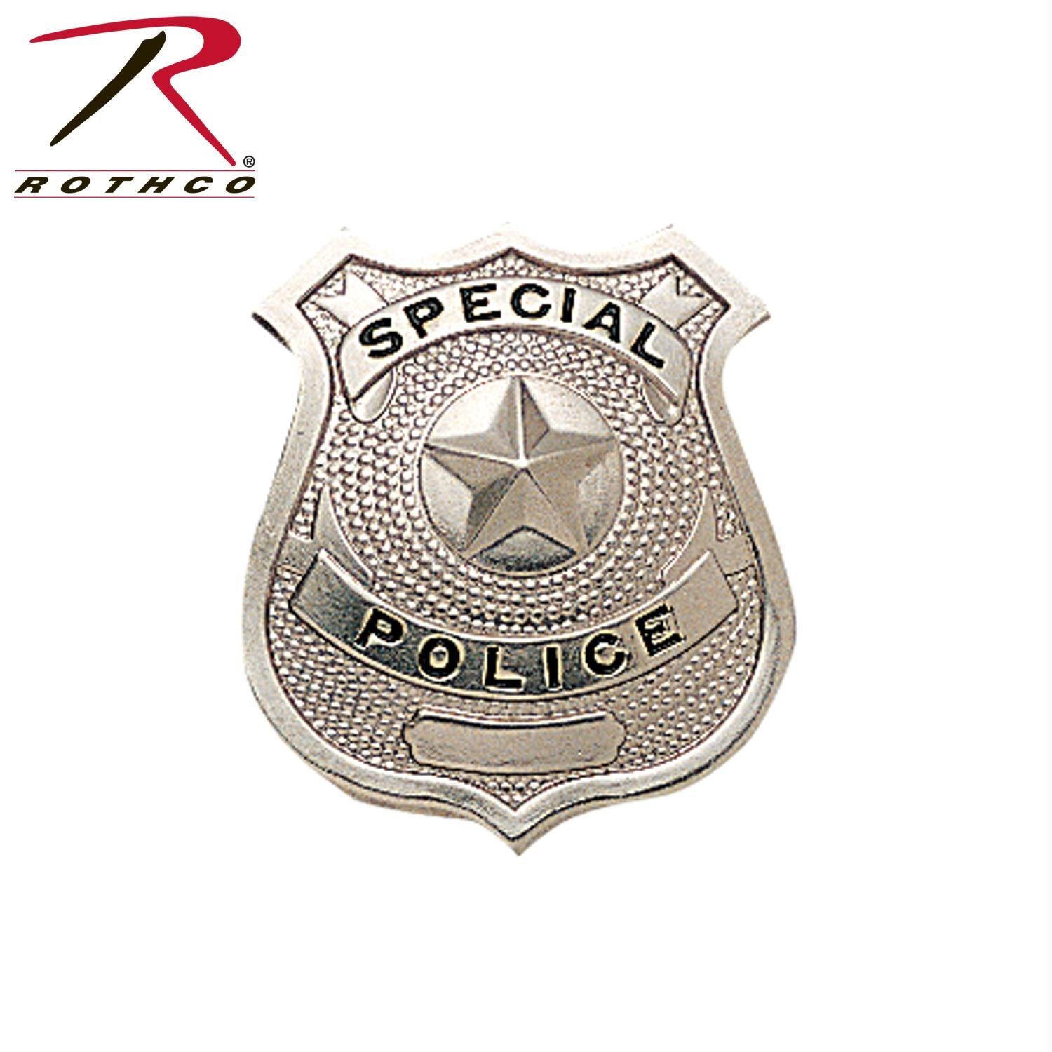 Rothco Special Police Badge - Silver