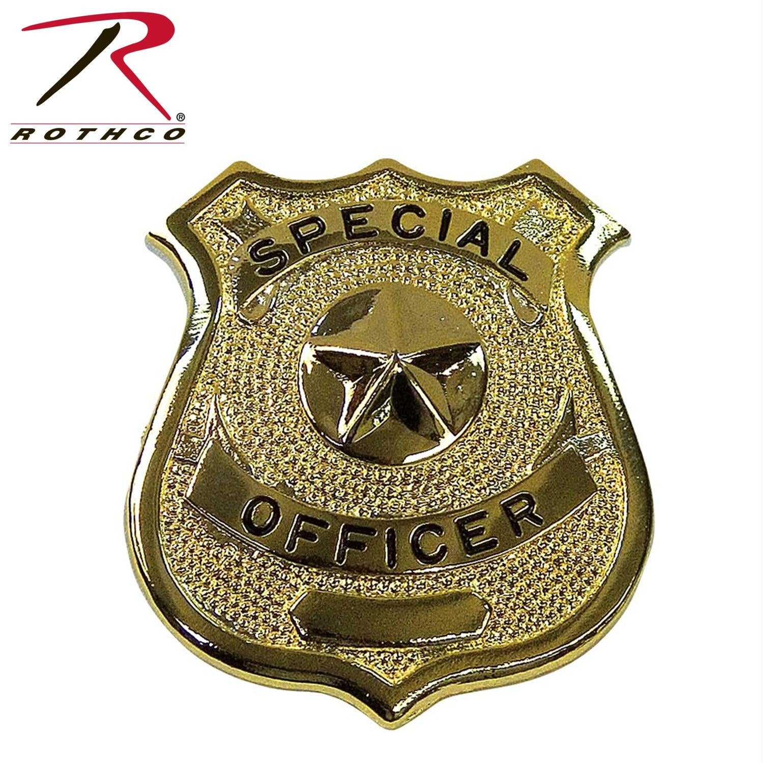 Rothco Special Officer Badge - Gold