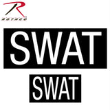 Rothco SWAT Patch Set Of Two With Hook Back