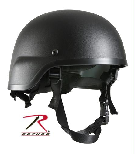 Rothco ABS Mich-2000 Replica Tactical Helmet - Black