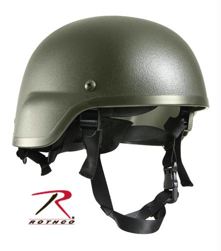 Rothco ABS Mich-2000 Replica Tactical Helmet - Olive Drab