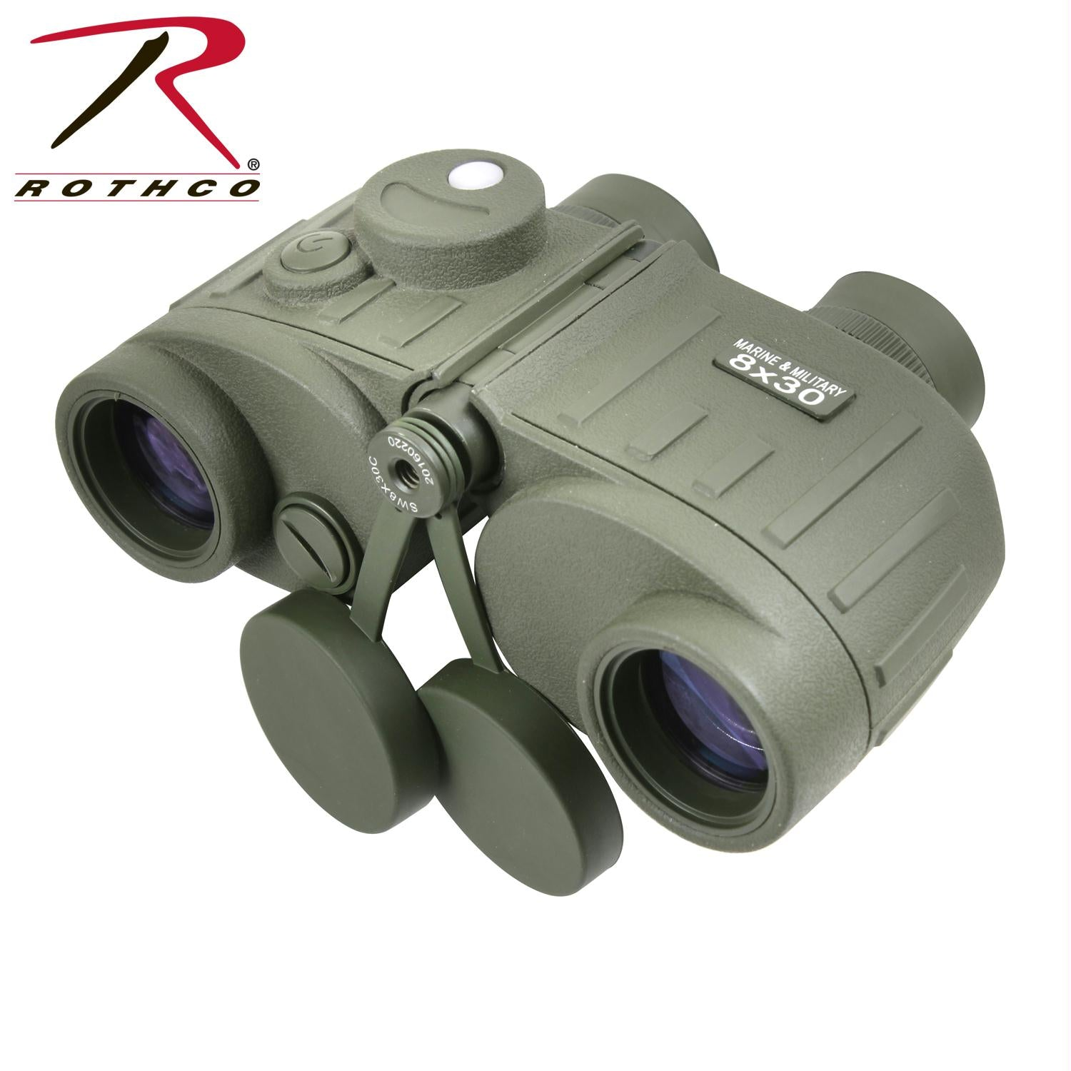 Rothco Military Style Tactical Binoculars 8 X 30 - Olive Drab