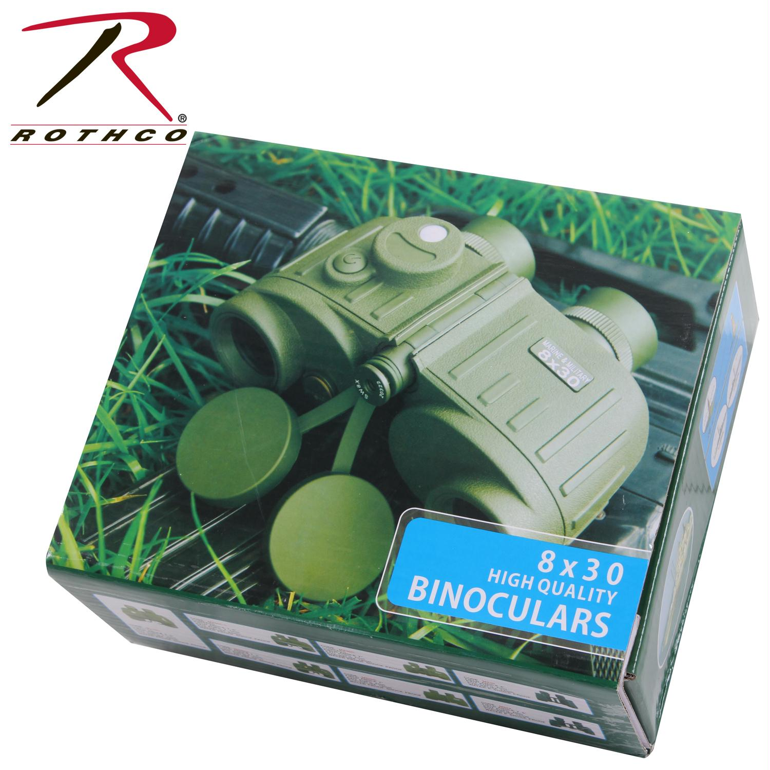 Rothco Military Style Tactical Binoculars 8 X 30