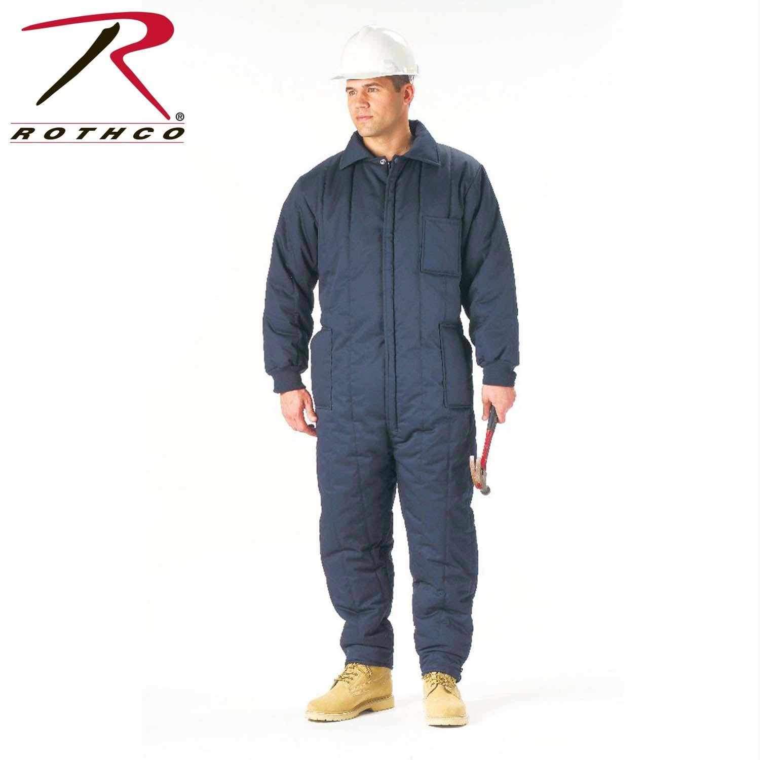 Rothco Insulated Coveralls - Navy Blue / XL