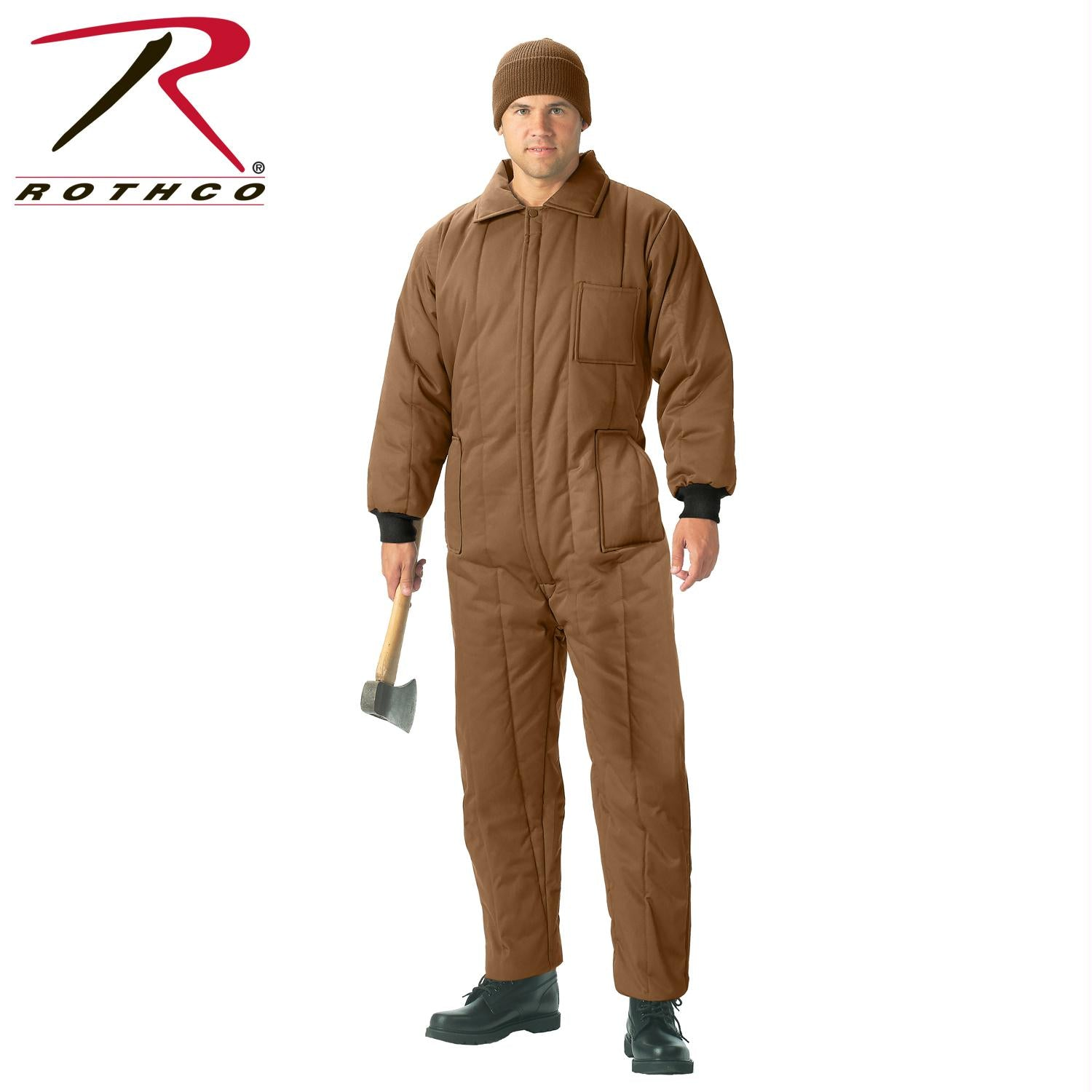 Rothco Insulated Coveralls - Coyote Brown / 2XL