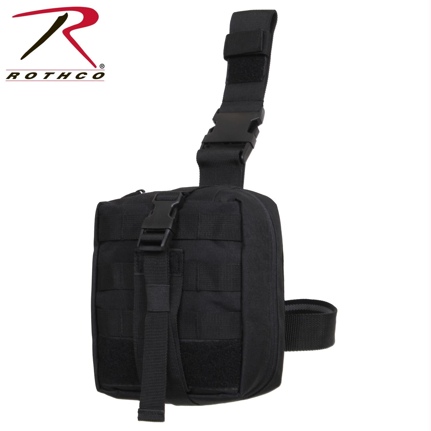 Rothco Drop Leg Medical Pouch - Black