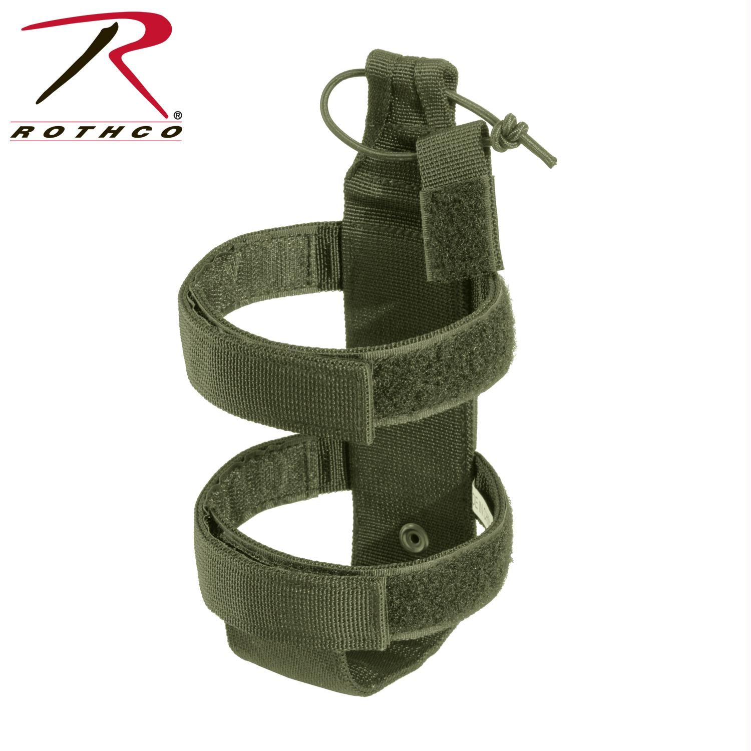 Rothco Lightweight MOLLE Bottle Carrier - Olive Drab