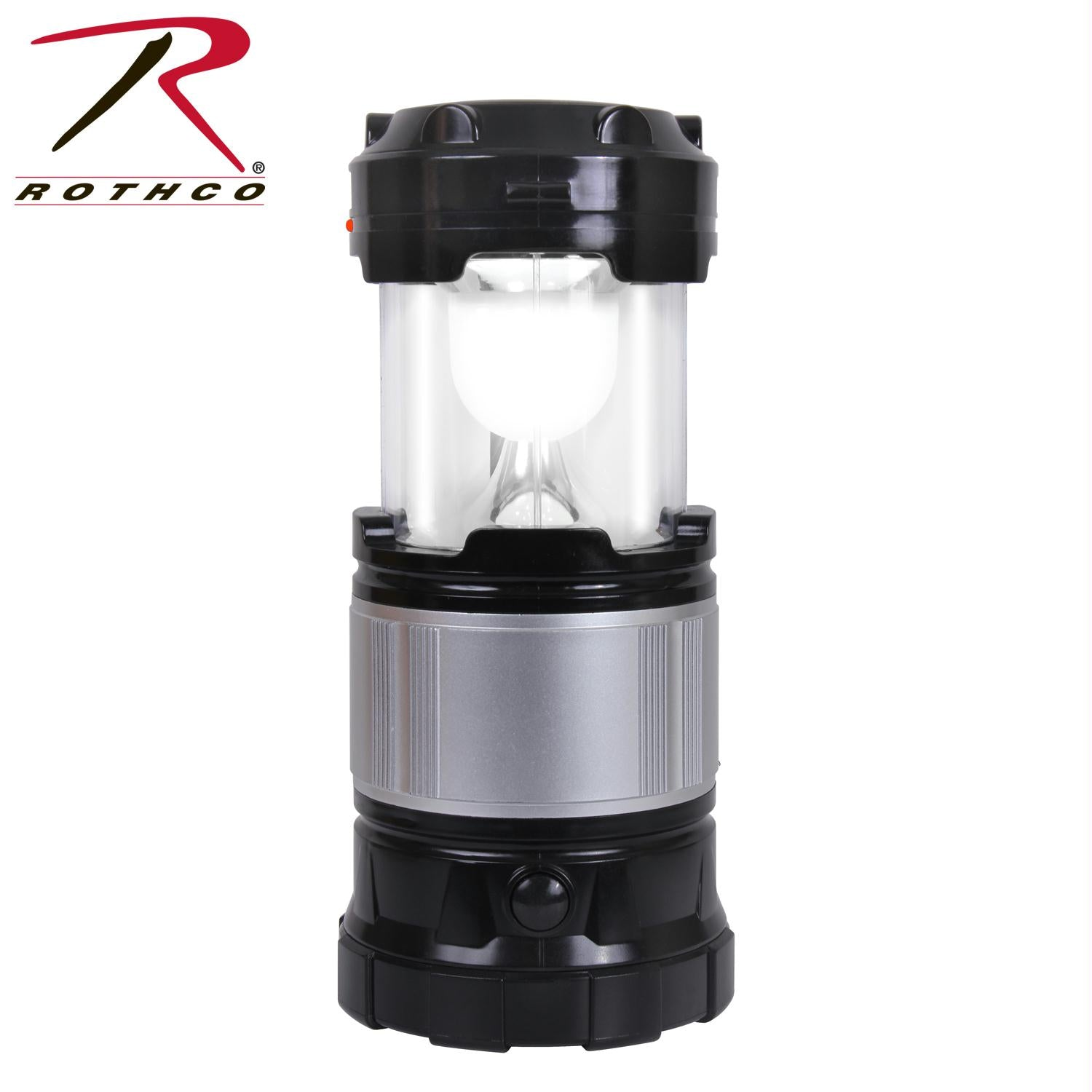 Rothco Solar Lantern Torch and Charger - Black